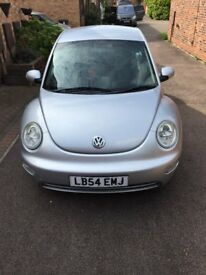 VW Beetle, Silver