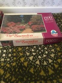 Arrow Games LTD The Snowdon 1500 piece jigsaw puzzle