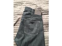 Armani Jeans Mens W33 Grey