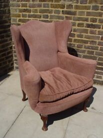 FREE DELIVERY Vintage Wingback Armchair Retro Vintage Furniture