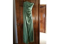 Green Alfred Angelo Dress Size 10