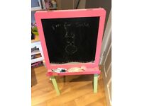 ELC white board and chalk easel