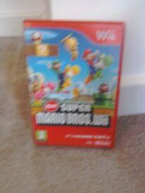 Super Mario WII game