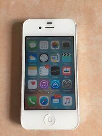 iPhone 4S White 16GB Orange Network