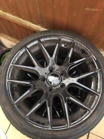 BMW CSL replicas alloy wheels