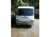 A Class Motorhome 4 Berth Low Mileage with tow hook Full MOT Alarm