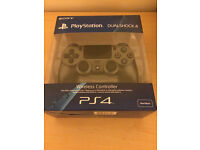 Brand new sealed PS4 controller Steel Black