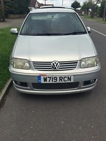 VW POLO 2000 *LOW MILEAGE* *NEED GONE*