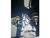 Weight plates set for sale