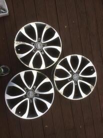 "17"" tekna alloy wheels Nissan Juke qashqai x3"