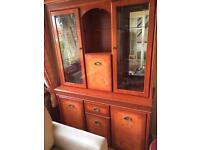 Yew cocktail Cabinet