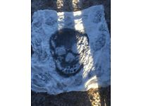 Skull Scarf. £3.50. Torquay or can post.
