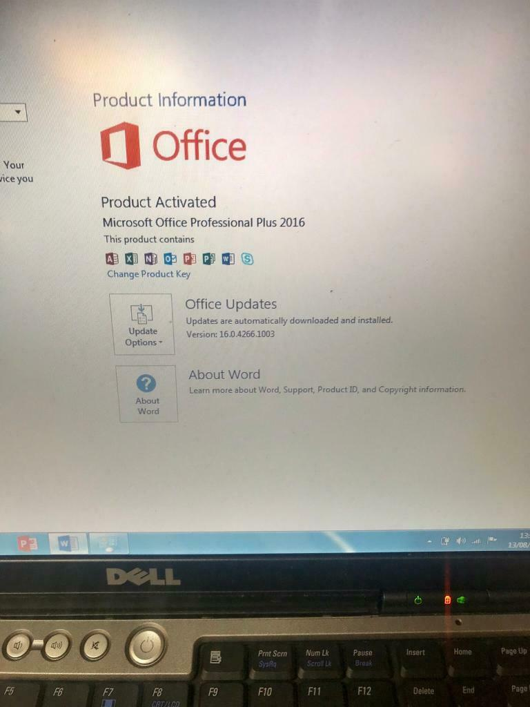 3GB Dell Laptop 160GB window7 Pro,Microsoft office,ready,Excellent  condition | in Sunderland, Tyne and Wear | Gumtree