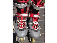 Inline Skates size 3 - 6