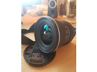 Tokina AT X 116 PRO DX II Wide-Angle Zoom Lens for Nikon - 5 star reviews everywhere