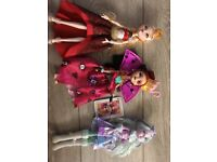 3 ever after high dolls all for £10 !