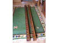 Vintage Snooker Cue Rack Stand - for 24 cues/rests