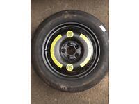 Space saver wheel & tyre (125/90 r16)