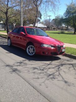 2003 Alfa Romeo 156 JTS Sedan Maylands Norwood Area Preview