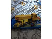 Lego city yellow delivery truck