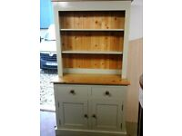 Lovely grey and pine dresser comes in 2 pieces