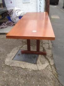 Office board room table in teakwood