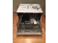 Currys Tabletop Dishwasher *Used once*- Model: ESSENTIALS CDWTT15 Compact Dishwasher - White