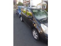 accident damaged Nissan note