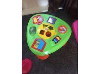 Little tikes activity table