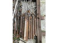 Cast iron sash window weights