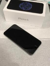 iPhone 6 16gb grey and black