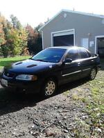 2001 sentra for TRADE for old truck to build into a buggy