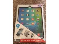 iPad case with stand