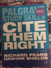 Palgrave Cite Them Right book