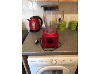 Red blender
