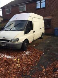 Ford transit lwb high top van