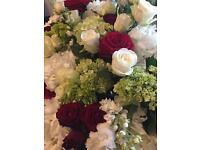 STUNNING FRESH FLOWER ARRANGEMENTS for weddings/funerals/events