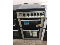 BRAND NEW BELLING 50CM STAINLESS STEEL GAS COOKER WITH OVEN GRILL