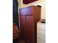 BEAUTIFUL retro solid wood wardrobe
