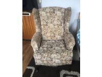 Vintage Parker Knoll Wingback Armchair