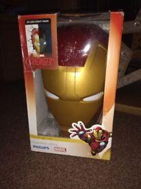 Avengers 3D LED Light Mask Iron Man