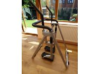 Carl Lewis AWD15X Foldable Air Walker Cross Trainer exercise equipment in excellent condition