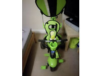 Smart trike deluxe 3 in 1, it can be used from 10 months until 3 years, very good condition
