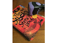 Scary Sound Effect Torch and Spooky Stencils - great for sleepovers and parties