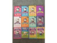Set of 12 Hello Kitty books