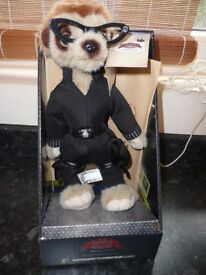 Limited Edition Agent Maiya Meerkat / Meercat Toy Compare the Market NEW