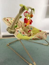 Fisher-Price Woodsy Comfy Bouncer!