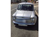 2000 ROVER MINI SPORTS PACK SILVER ,LIMITED COLOUR
