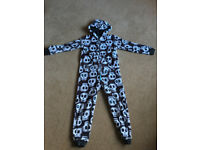 Marks & Spencer Fleece Onesie Age 9-10 years. VGC