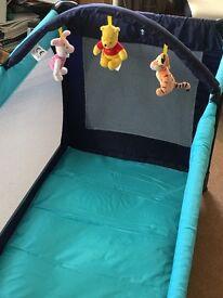 Winnie The Pooh Travel Cot - Nr. Hindhead